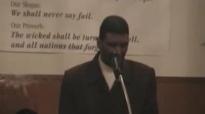 Pastor Nathan Simmons at All Natons cogic