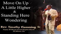 Rev. Timothy Flemming Sr. Sings Move On Up A Little Higher  Standing Here Wondering