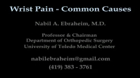WRIST PAIN COMMON CAUSES  Everything You Need To Know  Dr. Nabil Ebraheim