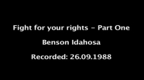 Benson Idahosa - Fight for your rights - Part One.mp4