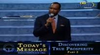 Bishop Charles H Ellis, Discovering True Prosperity 2