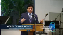WORTH OF YOUR WORDS - Sermon by Pastor Peter Paul.flv