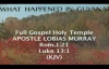 FULL GOSPEL HOLY TEMPLE  REWOUND  APOSTLE LOBIAS MURRAY  WHAT HAPPEN IN GUYANA