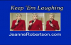JEANNE ROBERTSON VIDEO! Dont Bungee Jump Naked!