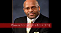 Power for What CONCLUSION  Dr. Stephen J. Thurston