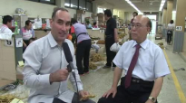 Health Benefits of Korean Ginseng, Interview with Dr Choi at the Geumsam Ginseng Market