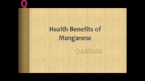 Health Benefits of Manganese Healthy Bones  Nutrition Tips  Health Tips