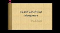 Health Benefits of Manganese Healthy Bones  Nutrition Tips  Health Tips