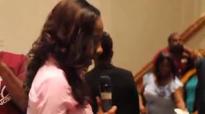 Le'Andria Johnson singing at Dr. Dorinda Clark Cole's appreciation.flv