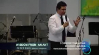 WISDOM FROM AN ANT - Sermon by Pastor Peter Paul.flv
