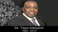 Creating An Atmosphere of Love 1 Dr Tayo Adeyemi