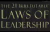 The 21 Irrefutable Laws of Leadership John C Maxwell Audiobook.compressed.mp4