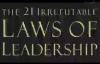 The 21 Irrefutable Laws of Leadership John C Maxwell Audiobook.compressed.mp4