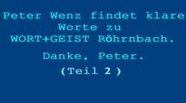 Peter Wenz äußert sich kritisch über Wort&Geist (Teil 2 - Fortsetzung).flv