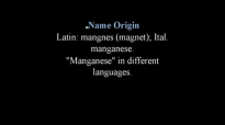 What Is Manganese