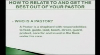 Bishop Michael Hutton - Wood - How To Relate To And Get The Best Out Of Your Pastor Part 2 of 6.flv