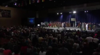 Pastor Tommy Barnett ministering during the World Conference 2014 in Orlando!