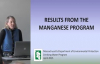 Manganese  Results and Health Effects