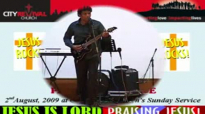 On the Rock - by Pastor Isaac Joe on 2 Aug 09 at City Revival Church's Sunday service.flv