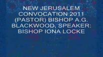 THE NEW JERUSALEM CHURCH HOLY CONVOCATION, SPEAKER_ BISHOP IONA LOCKE.flv