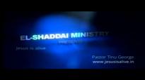 Pr. Tinu George Sunday Church Service Message  Importance of prayer life