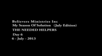The Needed helpers (Day 6)