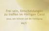 Das Wort Gottes - Jesus, sein Schwert und die Verfolgung - Frei sein, . #4_5 v. Katharine Siegling.flv