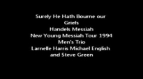 Michael English, Larnelle Harris-He Hath Bourne Young Messiah Tour 1994.flv