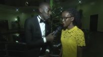Kansiime's twin sister on the #iamkansiime Redcarpet. Kansiime Anne. African com.mp4