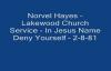 Norvel Hayes  In Jesus Name Deny Yourself  2881 Audio
