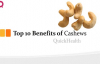 Top 10 Benefits of Cashews  Cashews Health Benefits