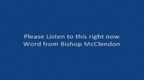 Let Us Become the Answer Here with Bishop Clarence E. McClendon