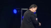 Pastor Steve Mensal at Morris Celullo Mission To London 2014