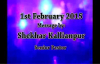 SK Ministies - 1st February 2015 , Speaker - Pastor Shekhar Kallianpur.flv