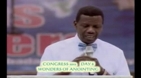 Wonders of Anointing by Pastor E A Adeboye- RCCG Redemption Camp- Lagos Nigeria