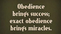Pastor Ed Lapiz 2018 Preaching ➤ ''Obedience Brings Success - Exact Obedience Br.mp4