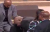 Child prays for Bishop T.D. Jakes