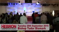 Bishop Tudor Bismark @ Hebron Christian Faith Church, Coventry, UK.flv