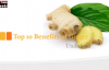 Top 10 Benefits of Ginger  Health Benefits of Ginger