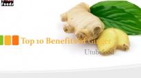 Top 10 Benefits of Ginger  Health Benefits of Ginger