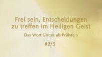 Der Heilige Geist und das Wort Gottes - Frei sein, im Heiligen Geist . #2_5 von Katharine Siegling.flv
