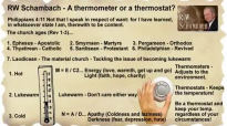 RW Schambach - Are you a Thermometer or a Thermostat