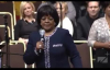 Pastor Shirley Caesar at Pastor Andrae Crouch Homegoing Celebration