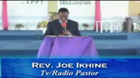 Breaking satanic siege by Rev Joe Ikhine  part 1 of 2 -