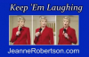 Jeanne Robertson  Learning Cursive ... Or Not