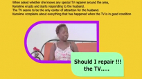 Should i repair the TV. Kansiime Anne. African comedy.mp4