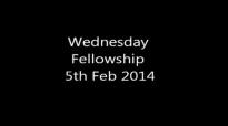 Dr Uma Ukpai  Wednesday Fellowship 5th feb 2014