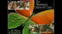 Mississippi Children's Choir - His Eye Is On The Sparrow.flv