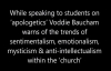 Voddie Baucham warns of the trends of emotionalism mysticism & anti intellectual.mp4
