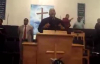 Pastor John Adolph at Turkey Creek MBC